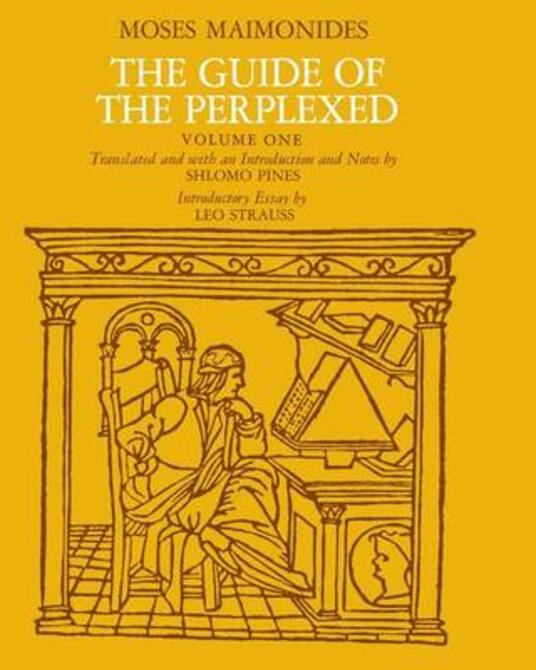 The Guide of the Perplexed - Moses Maimonides - cover