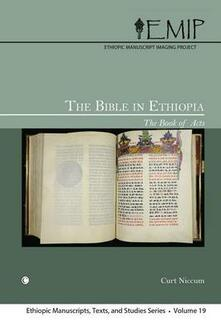 The Bible in Ethiopia: The Book of Acts - Curt Niccum - cover