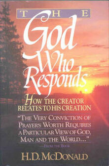 The God Who Responds - H. D. McDonald - cover