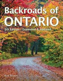Backroads of Ontario - Ron Brown - cover