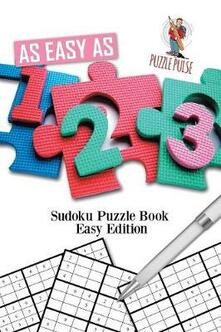 As Easy As 1-2-3: Sudoku Puzzle Book Easy Edition - Puzzle Pulse - cover