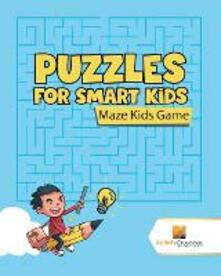 Puzzles for Smart Kids: Maze Kids Game - Activity Crusades - cover