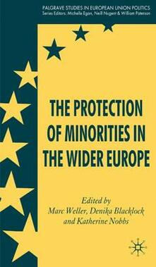 The Protection of Minorities in the Wider Europe - cover