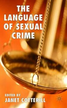 The Language of Sexual Crime - cover