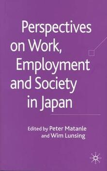 Perspectives on Work, Employment and Society in Japan - cover
