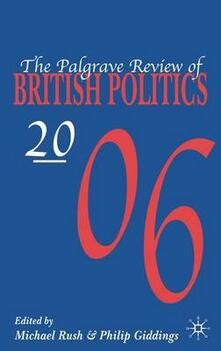 The Palgrave Review of British Politics 2006 - cover