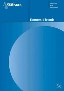 Economic Trends Volume 626, January 2006 - Office for National Statistics - cover