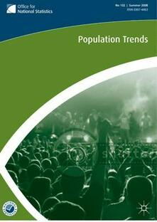 Population Trends No 124, Summer 2006 - Office for National Statistics - cover