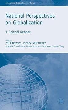 National Perspectives on Globalization - cover
