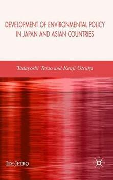 Development of Environmental Policy in Japan and Asian Countries - cover