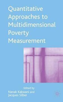 Quantitative Approaches to Multidimensional Poverty Measurement - cover