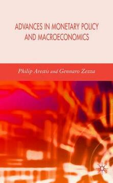 Advances in Monetary Policy and Macroeconomics - cover