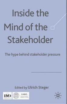 Inside the Mind of the Stakeholder: The Hype Behind Stakeholder Pressure - cover