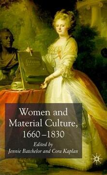 Women and Material Culture, 1660-1830 - cover