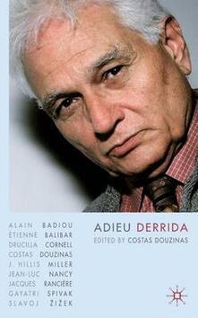 Adieu Derrida - cover