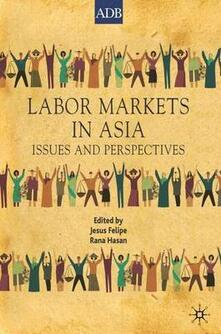 Labor Markets in Asia: Issues and Perspectives - Jesus Felipe,Rana Hasan - cover