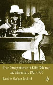 The Correspondence of Edith Wharton and Macmillan, 1901-1930 - cover