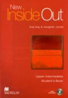 New Inside Out - Student Book - Upper Intermediate - With CDRom - CEF B2 - Sue Kay,Vaughan Jones - cover