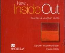 New Inside Out Upper Intermediate Class Audio CDx3 - Sue Kay,Vaughan Jones,Vaughan Jones - cover