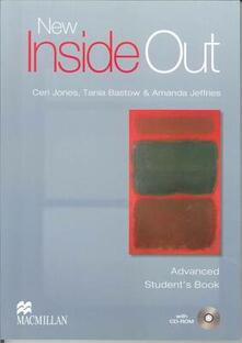 Inside Out Advanced Level Student Book Pack New Edition - Sue Kay,Vaughan Jones - cover