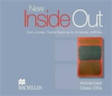 New Inside Out Advanced Class CDx3 - Sue Kay,Vaughan Jones - cover