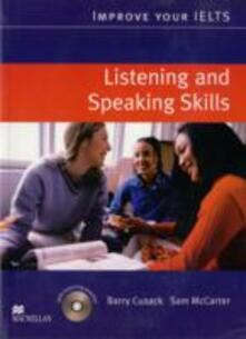 Improve Your IELTS Listening and Speaking Skills Student's Book & CD Pack - Barry Cusack - cover