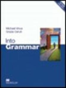 Into Grammar Student's Book & CD-ROM - Olivia Johnston - cover