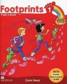 Footprints 1 Pupil's Book Pack - Carol Read - cover