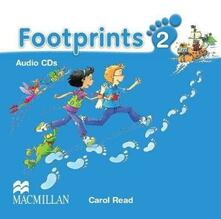 Footprints 2 Audio CDx3 - Carol Read - cover