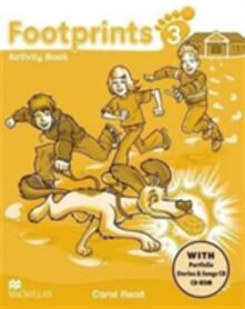 Footprints 3 Activity Book Pack - Carol Read - cover