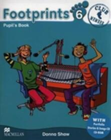 Footprints 6 Pupil's Book Pack - Donna Shaw - cover