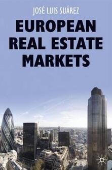 European Real Estate Markets - Jose Luis Suarez - cover