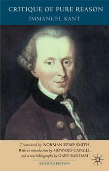 Critique of Pure Reason, Second Edition - Immanuel Kant,Howard Caygill,Gary Banham - cover