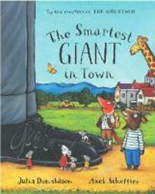 The Smartest Giant in Town Big Book - Julia Donaldson - cover