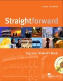 Straightforward Beginner Student's Book & CD-ROM Pack - Lindsay Clandfield - cover
