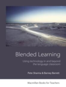 Blended Learning - Pete Sharma,Barney Barrett - cover