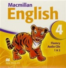Macmillan English 4 Fluency CDx2 - Mary Bowen - cover