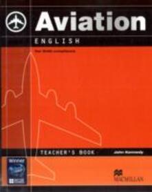 Aviation English Teacher's Book - cover