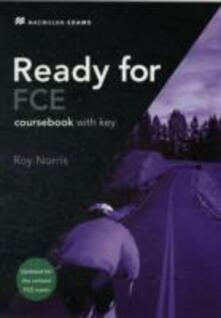 Ready for FCE Student Book +key 2008 - Roy Norris - cover