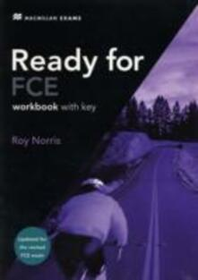 Ready for FCE Workbook - key 2008 - Roy Norris - cover