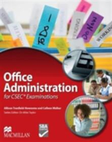 Office Administration for CSEC (R) Examinations - Colleen Walker,Allison Trensfield-Newsome - cover