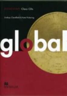 Global Elementary Class Audio CD - Lindsay Clandfield,Kate Pickering - cover