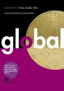 Global Advanced Class Audio CD x3 - Lindsay Clandfield,Amanda Jeffries - cover