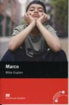 Macmillan Readers Marco Beginner without CD - Mike Esplen - cover