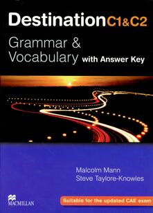 Destination C1&C2 Upper Intermediate Student Book +key - Malcolm Mann,Steve Taylore-Knowles - cover