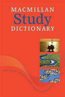 Macmillan Study Dictionary CD-ROM: Study CD - cover