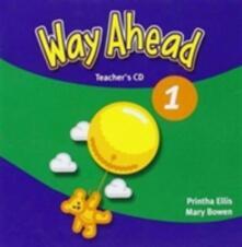 Way Ahead 1 Teacher's Book CDx1 - Printha J Ellis - cover