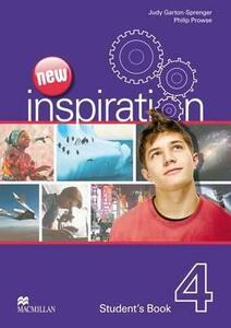 New Edition Inspiration Level 4 Student's Book - Judy Garton-Sprenger,Philip Prowse - cover