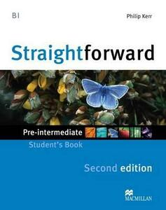 Straightforward 2nd Edition Pre-Intermediate Level Student's Book - Phillip Kerr - cover
