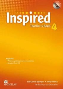 Inspired Level 4 Teacher's Book Pack - Philip Prowse - cover